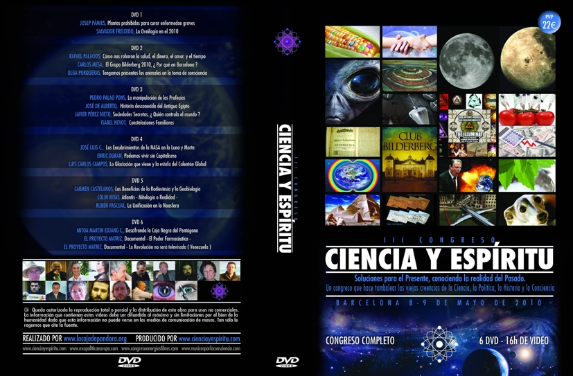 portada Ciencia y Espiritu III