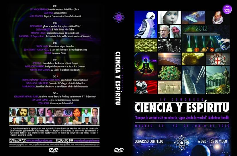 portada Ciencia y Espiritu IV